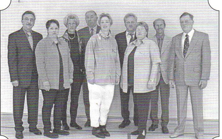 Verantwortliche des Dörrigser Sportfestes 2001