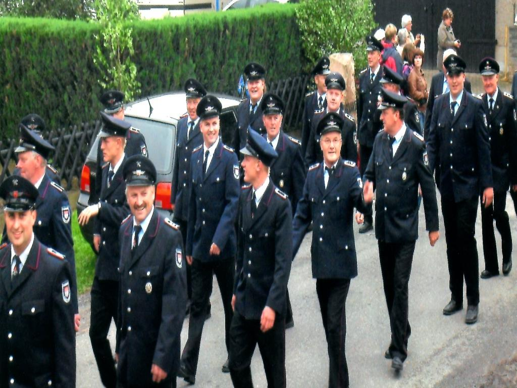 90. Geburtstag der Dörrigser Ortswehr im Juni 2012